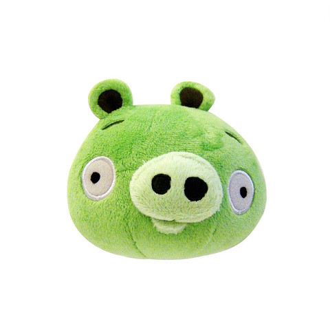Angry Bird Plush / Soft Toy - Neutral Pig