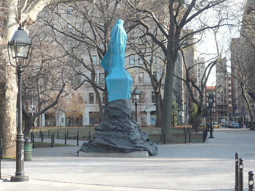 Found Art (Washington Square Park) Unmonumental 456