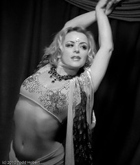 Heavenly Spies (Todd_Hobert) Tags: show seattle stage entertainment cancan pikeplacemarket burlesque 2010 g12 theheavenlyspies