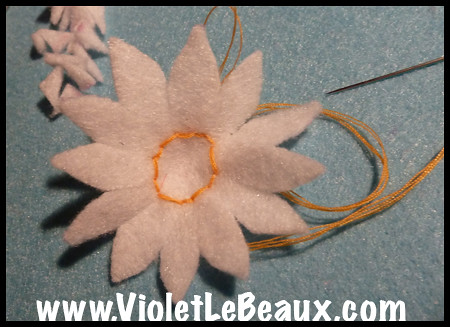 Daisies Hairband Tutorial