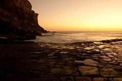 Garie Beach at sunrise (kath_bar) Tags: christmas sun beach sunrise rise garie