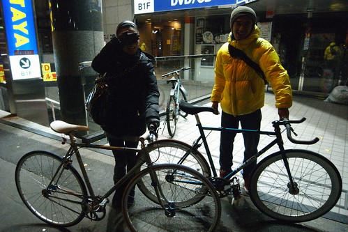 Ken san and Umi san