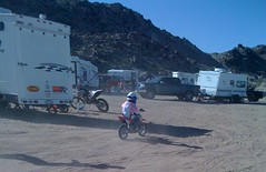 Daisy Sands first two wheel experience