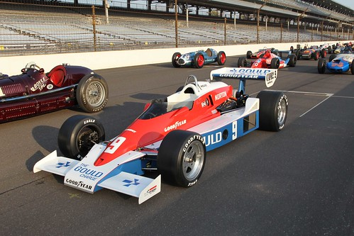 Rick Mears' at the Indianapolis Motor Speedway Greatest 33 Photo Shoot