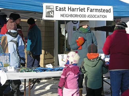 Winter Kite Festival 2009 East Harriet Farmstead