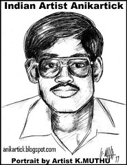 Anikartick's Portrait - Chennai Animation Artist,Tamilnadu,India - Done by Animation Artist K.Muthu (INDIAN ARTIST GALLERY welcomes You - ANIKARTICK) Tags: portrait india art painting sketch artist drawing indian sketching animation illustrator chennai colouring tamilnadu bg linedrawing pendrawing awn animator animationmentor linetest backgroundart animationexpress walkcycle penciltest femaleart 2danimation anatomydrawings arttutorial indianartist characterdesigner animationsupervisor layoutartist indianvideos chennaiartist runcycle animationdirector gameshastra backgroundartist storyboardartist anikartick indiananimation indiananimator animationtutorials maduraiartist tilanimationstudio millitoonanimationstudio dqentertainment pyramidinfotainment minvelimediaworks dqent millitoon millimages bgartist keyframeartist keyframeanimation animationlession