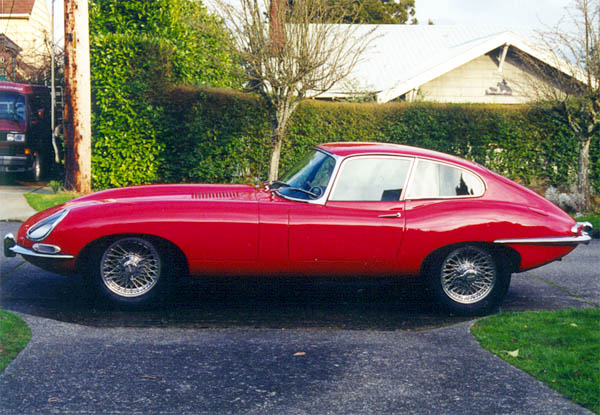 1966 Jaguar E-Type Coupe