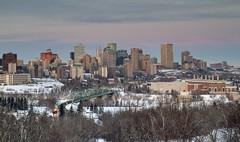 edmonton's winter skyline (Matthew P Sharp) Tags: city urban canada skyline canon edmonton alberta 7d tamron