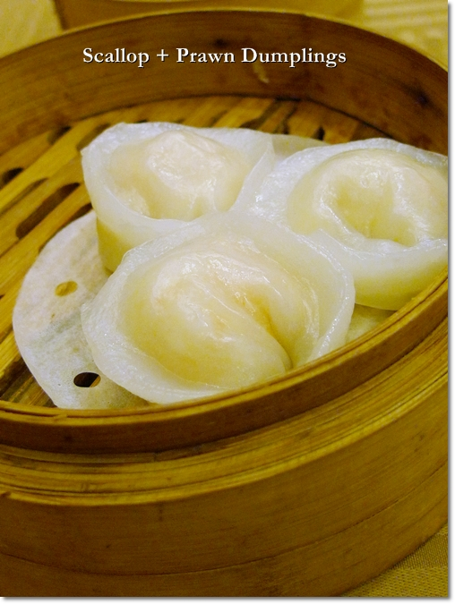 Scallop & Prawn Dumplings