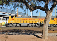 Union Pacific MP15L UPY 1343 rests on New Year's Day, Tucson, Arizona, January 1, 2011 (Ivan S. Abrams) Tags: railroad arizona up yard train 645 gm diesel tucson railway trains unionpacific locomotive railways 710 railroads generalmotors uprr emd 567 dieselelectric pimacounty electromotivedivision upy mp15 dieselelectriclocomotives ivansabrams thebestofday gnneniyisi ivanabrams abramsandmcdaniel