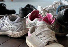 Day 24 - Gym Shoes (Tasha Chawner) Tags: photography photo shoes teenagers runners dirtyshoes gymshoes 365project