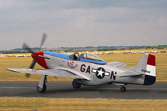 F-AZJJ NORTH AMERICAN P-51D-25-NA MUSTANG 122-41046