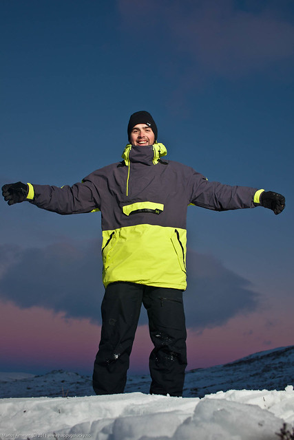 Bjørn Kaupang at Hardangervidda, Norway