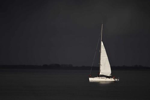 white storm netherlands zeilen sailing yacht nederland free stormy cc creativecommons sail wit badweather schip oosterschelde jacht donkerblauw colijnsplaat slechtweer freetouse scheepje stormachtig