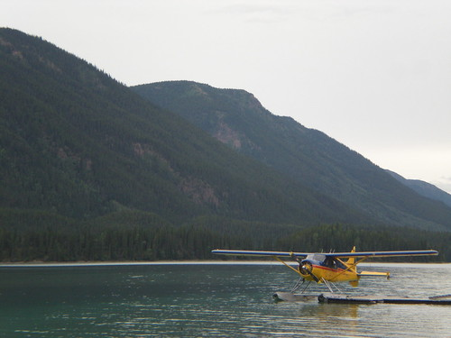 Sea plane on the Alaska Highway