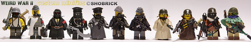 Weird War custom minifigs