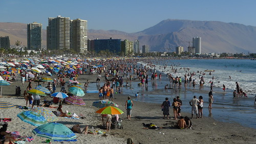 Playa Cavancha - Iquique, Chile
