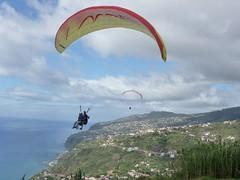 Madeira Paragliding (H2O Madeira) Tags: travel sports sport holidays h2o paragliding madeira parapente h2omadeira