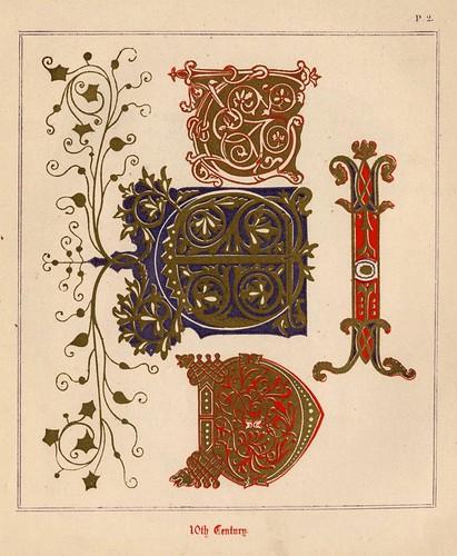 002- Medieval Alphabets and Initials 1886- F.G. Delamotte- Copyright 2006 illuminated-book.com& libros-iluminados.com
