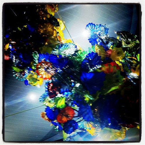 006/365 - I take pictures of this Dale Chihuly glass every time we are here.  I love it.