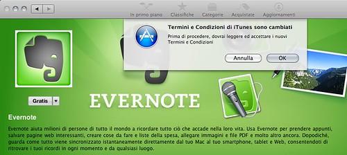 Mac App Store - installazione Evernote 02 (dettaglio)