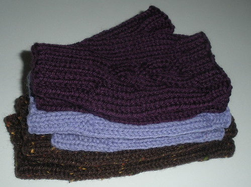 Braided Mitts in three sizes