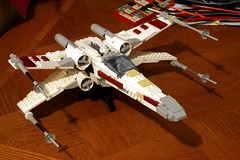 unoriginal--no. 4 (psiaki) Tags: star fighter lego xwing wars moc t65 starfighter incom