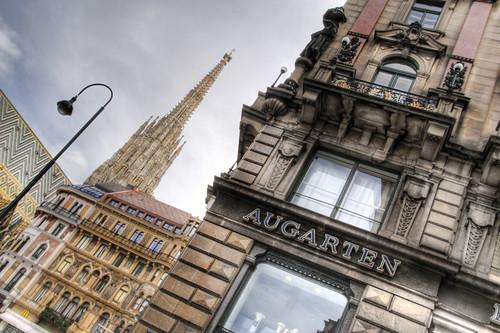 Saint Stephen cathedral pinnacle. Vienna. Aguja de la catedral de San Esteban. Viena