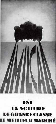 The 1930s-ad for Amilcar car by april-mo