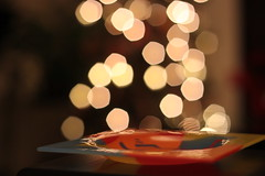 Xmas lights bokeh