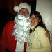 Lauren Clark and Santa at LUPEC