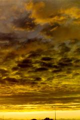 Sunset over the Irish Sea (billnbenj) Tags: sunset scanner cumbria barrow irishsea scannednegative