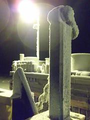 Ferry dock December (Karibuoy-pics) Tags: lumi talvi j matka lautta hailuoto joulukuu hailuoto1