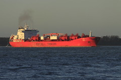 BOW STAR (John Ambler) Tags: water sign docks star call bow solent oil southampton refinery tanker imo tankers fawley mmsi odfjell bowstar odfjelltankers s6bk3 9197269 565397000