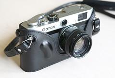 Canon P with Zhou Case 1 (fotostevia) Tags: canonp zhoucase