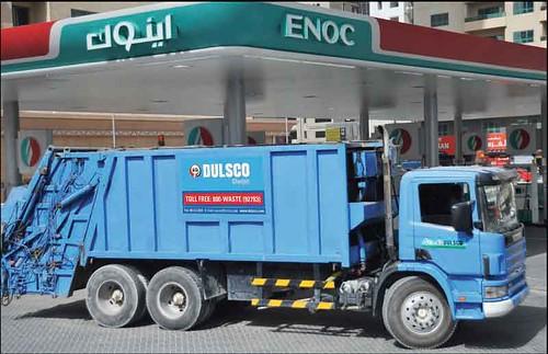 ENOC Dubai's 'Green' Petrol Station