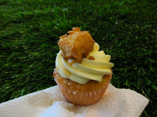 Chicken & Waffles Cupcake