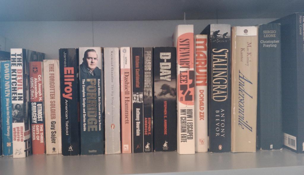 Scott's bookshelf