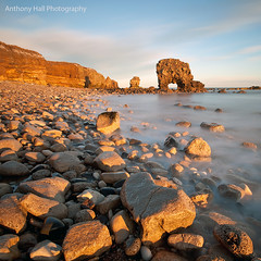 Love on the rocks (Azzmataz) Tags: long exposure arch south stop lee ten shields whitburn anthonyhallphotography