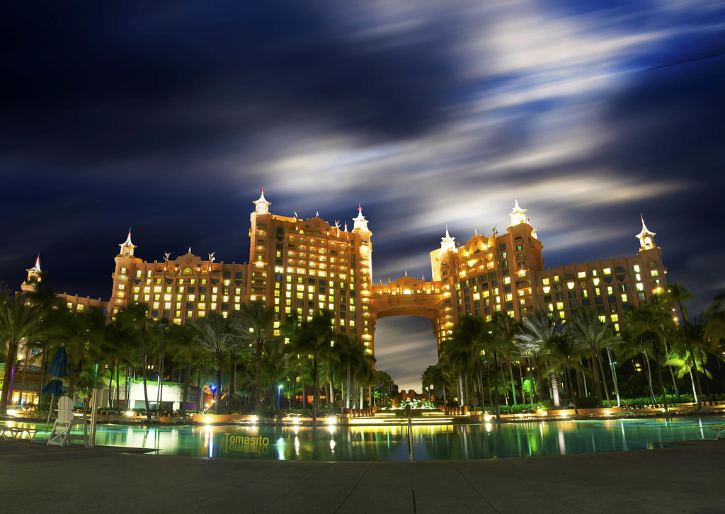 One of The World's Best: Atlantis Resort, Paradise Island, Nassau, The Bahamas