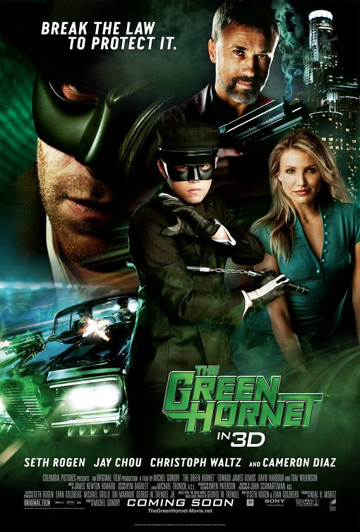 The Green Hornet 2011 film poster