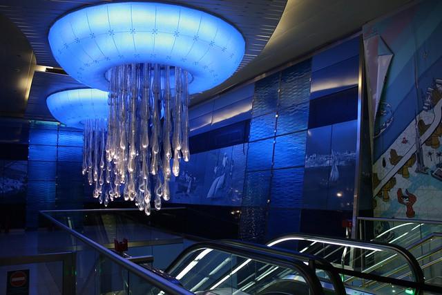 Dubai metro, Khalid Bin Al Waleed station