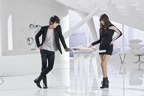 フリー写真素材, 人物, カップル・恋人・夫婦, オフィス, ビジネス, 韓国人,