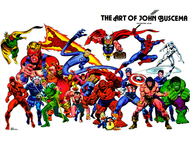 Art of John Buscema cover