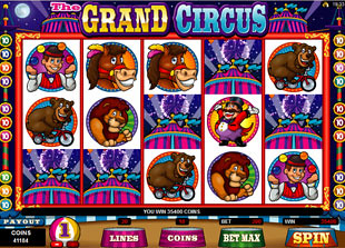 free The Grand Circus scatter symbol