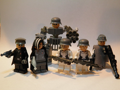 Custom minifig Neo War Figs