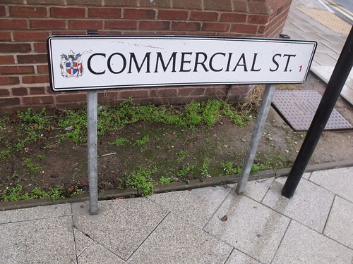 Commercial Street - road sign