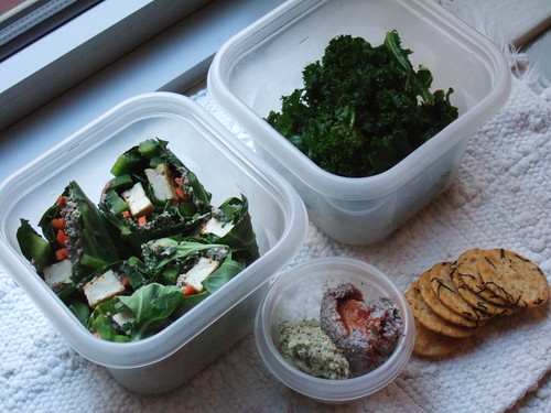 Wraps and two dips lunchbox 015
