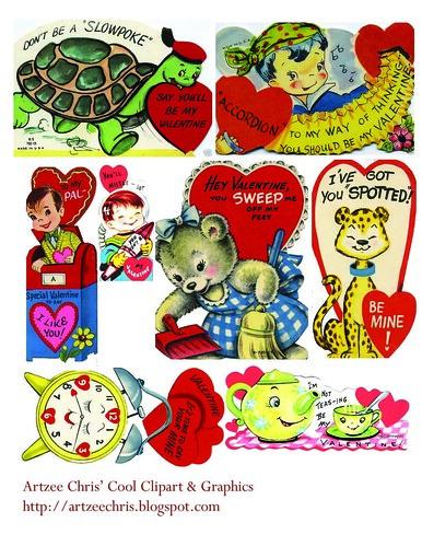 ValentineMiscClipartSheetjpg