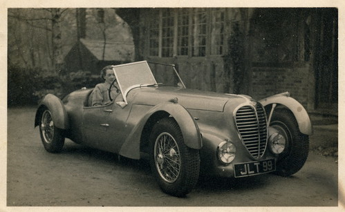 Delahaye 135MS Selbourne Roadster